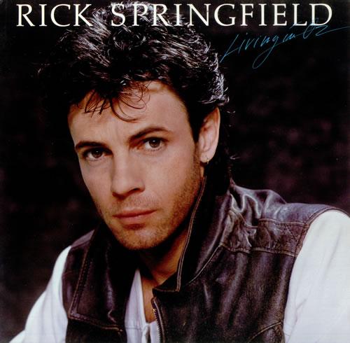 Rick Springfield Living In Oz vinyl LP album (LP record) US RSPLPLI445042