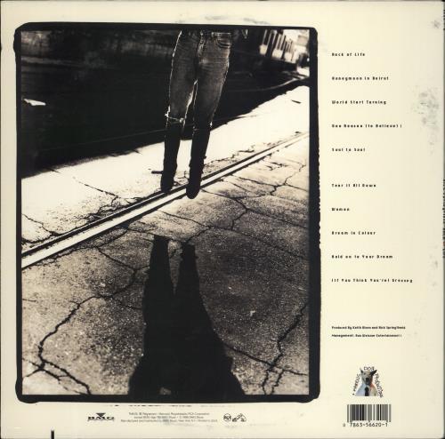 Rick Springfield Rock Of Life vinyl LP album (LP record) US RSPLPRO766061