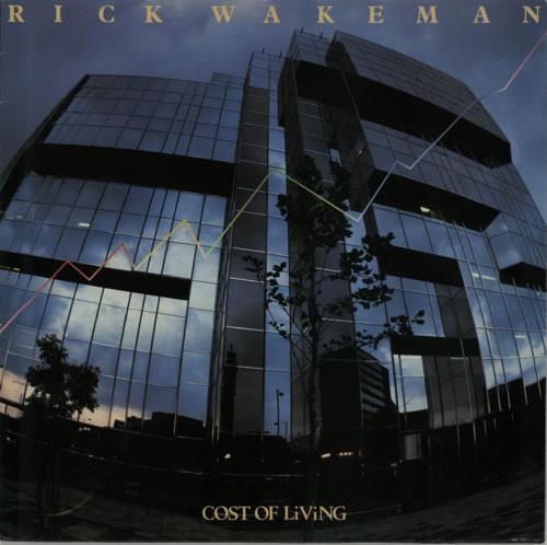 Rick Wakeman Cost Of Living vinyl LP album (LP record) UK RKWLPCO281364