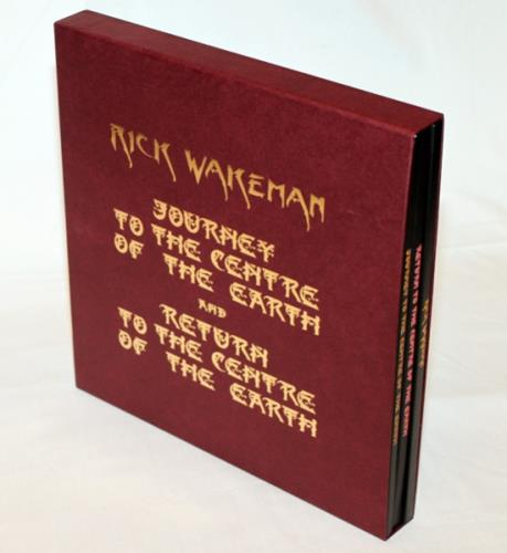 Rick Wakeman Journey To The Centre Of The Earth - Super Deluxe Collector's Edition Vinyl Box Set UK RKWVXJO636610