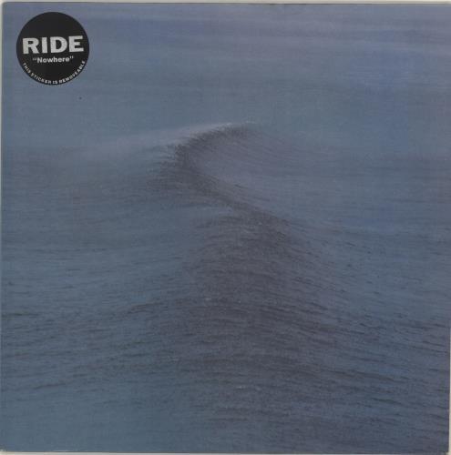 Ride Nowhere - Stickered Sleeve vinyl LP album (LP record) UK RIDLPNO704163