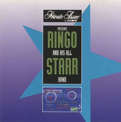 "Ringo Starr 4-starr Collection CD single (CD5 / 5"") US RINC5ST72741"