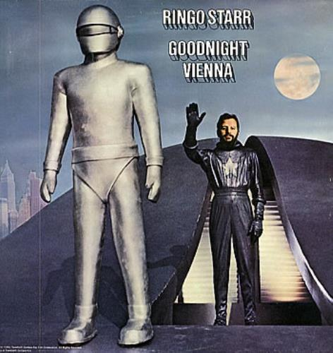 Ringo Starr Goodnight Vienna vinyl LP album (LP record) UK RINLPGO63403
