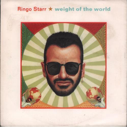 "Ringo Starr Weight Of The World - EX 7"" vinyl single (7 inch record) German RIN07WE664878"