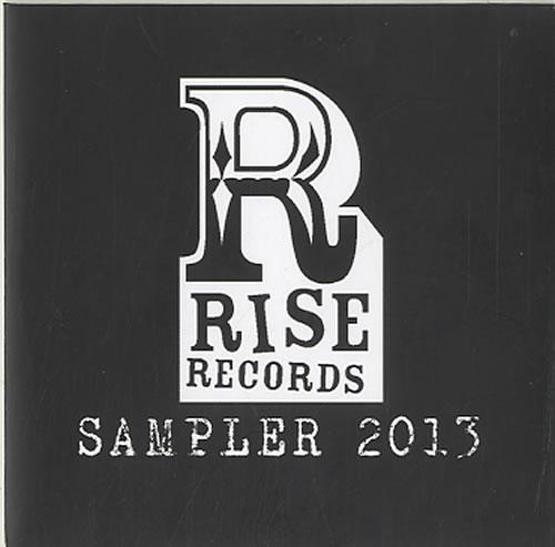 Rise Records Sampler 2013 CD-R acetate US W91CRSA626631