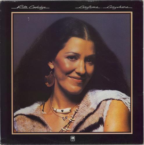 Rita Coolidge Anytime... Anywhere vinyl LP album (LP record) UK RTCLPAN358004