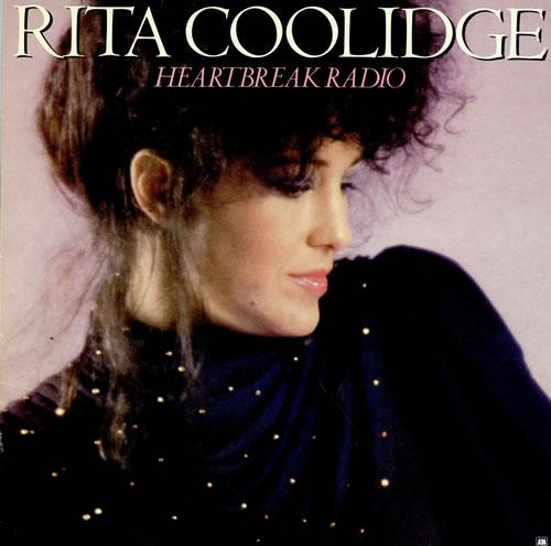 Rita Coolidge Heartbreak Radio vinyl LP album (LP record) UK RTCLPHE458391