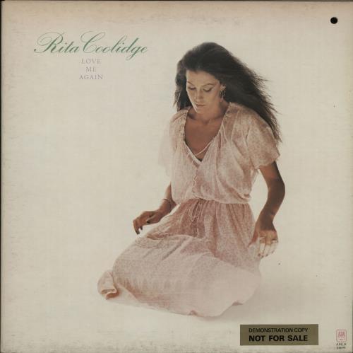Rita Coolidge Love Me Again - Promo Stickered vinyl LP album (LP record) UK RTCLPLO457423