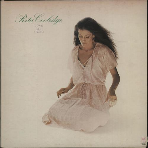 Rita Coolidge Love Me Again vinyl LP album (LP record) UK RTCLPLO678267