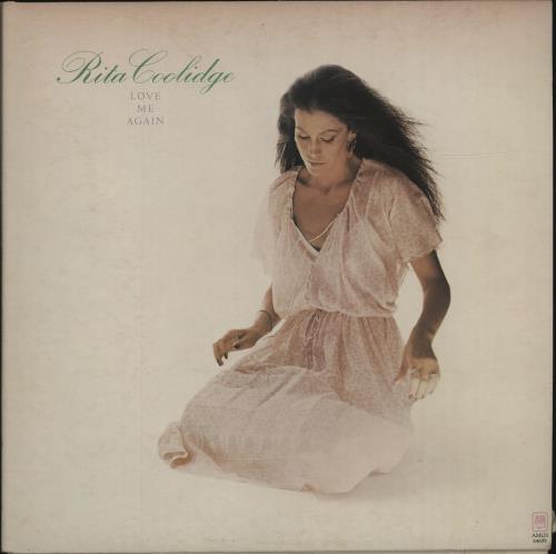 Rita Coolidge Love Me Again vinyl LP album (LP record) UK RTCLPLO678267