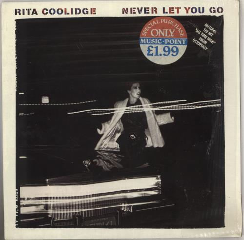 Rita Coolidge Never Let You Go + Shrink vinyl LP album (LP record) UK RTCLPNE740404