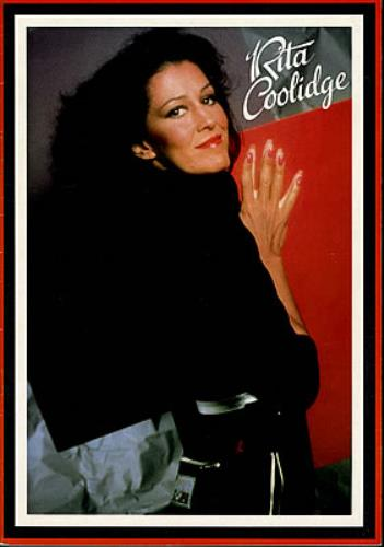 Rita Coolidge The Very Best Of - Live tour programme UK RTCTRTH370680