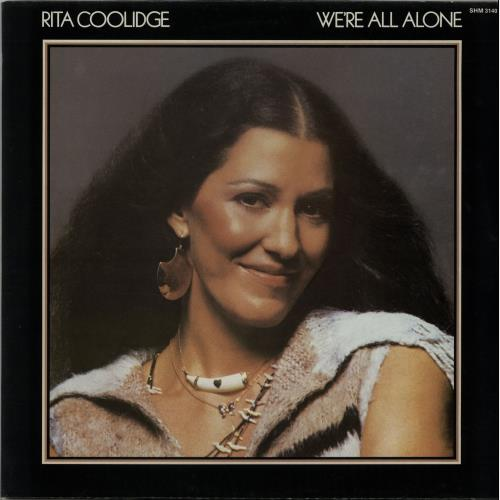 Rita Coolidge We're All Alone vinyl LP album (LP record) UK RTCLPWE646504