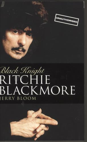 Ritchie Blackmore Black Knight book UK RBMBKBL408063