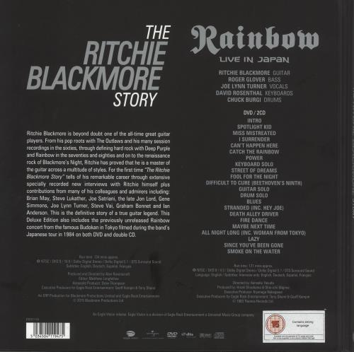 Ritchie Blackmore The Ritchie Blackmore Story 4-CD album set UK RBM4CTH739823