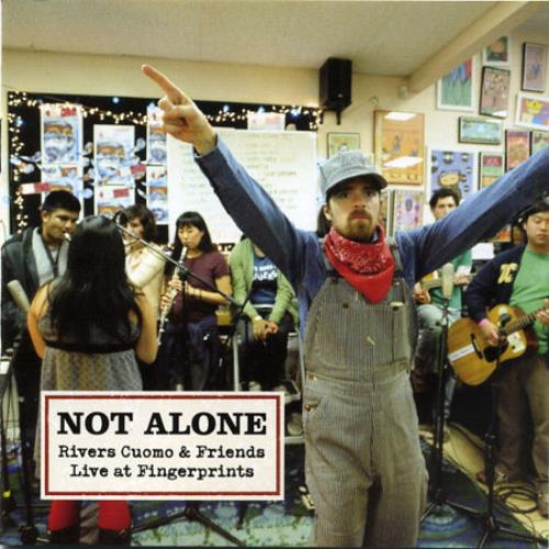 Rivers Cuomo Not Alone 2-disc CD/DVD set Japanese RIU2DNO471530