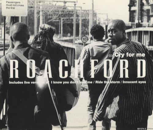 "Roachford Cry For Me CD single (CD5 / 5"") UK ROAC5CR99214"