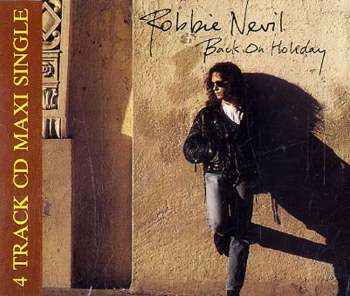 """Robbie Nevil Back On Holiday CD single (CD5 / 5"""") UK RNVC5BA209319"""