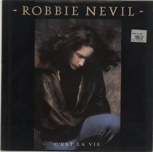 Robbie Nevil C Est La Vie Uk Vinyl Lp Album Lp Record