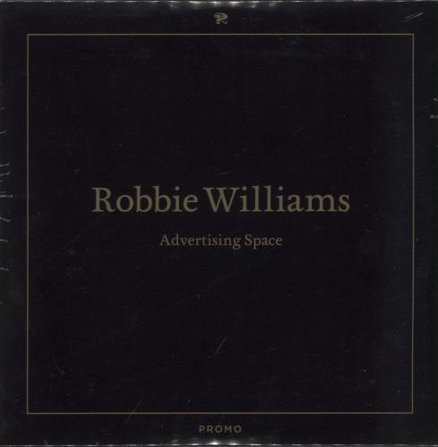"Robbie Williams Advertising Space - sealed CD single (CD5 / 5"") UK RWIC5AD662193"