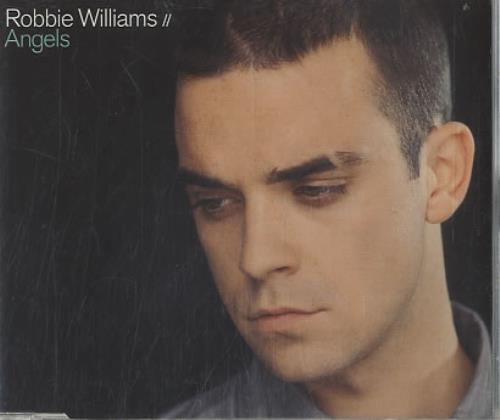 "Robbie Williams Angels CD single (CD5 / 5"") Dutch RWIC5AN174604"