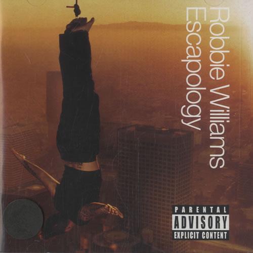 Robbie Williams Escapology - Explicit Version CD album (CDLP) US RWICDES242786