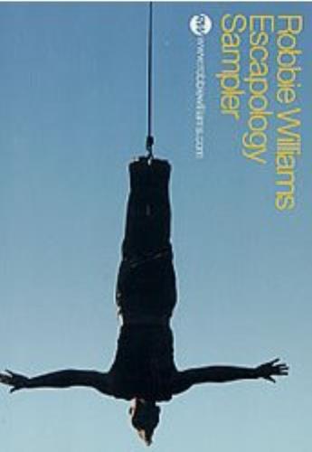 "Robbie Williams Escapology Sampler CD single (CD5 / 5"") US RWIC5ES238464"