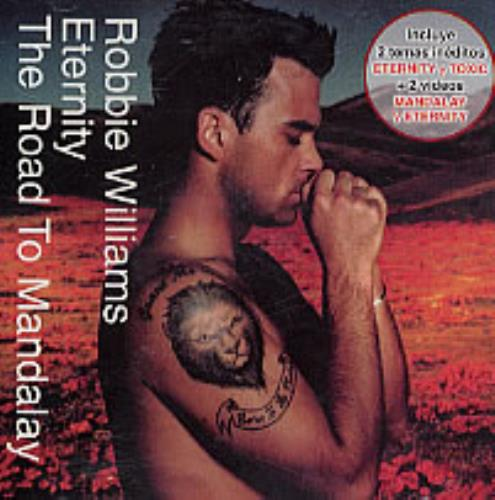 "Robbie Williams Eternity / The Road To Mandalay CD single (CD5 / 5"") Argentinean RWIC5ET239780"