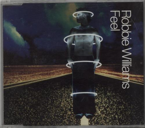 Robbie Williams Feel CD + DVD CD/DVD single set UK RWISDFE227960