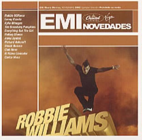 "Robbie Williams Feel CD single (CD5 / 5"") Mexican RWIC5FE228744"