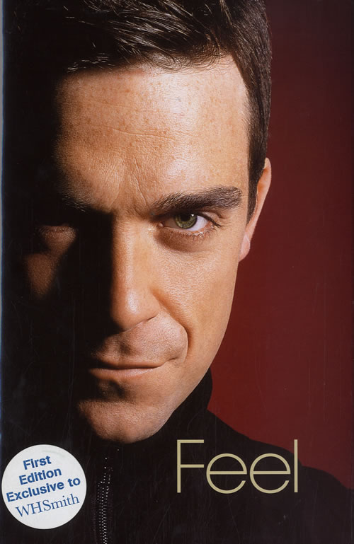 Robbie Williams Feel book UK RWIBKFE584002