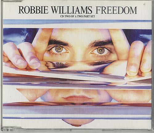Robbie Williams Freedom - Parts 1 & 2 2-CD single set (Double CD single) Dutch RWI2SFR626387