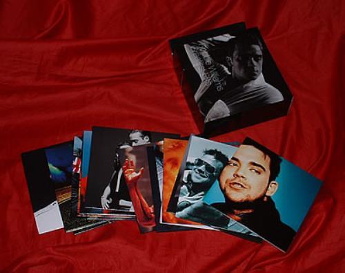 Robbie Williams Greatest Hits CD Single Box Set UK RWICXGR310885
