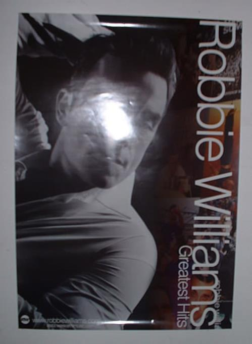 Robbie Williams Greatest Hits poster Colombian RWIPOGR322222