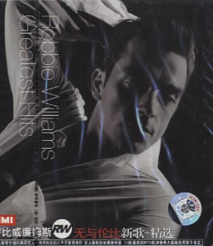 Robbie Williams Greatest Hits CD album (CDLP) Chinese RWICDGR325166
