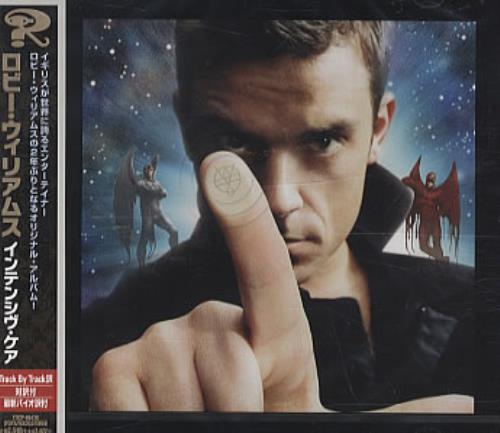 Robbie Williams Intensive Care CD album (CDLP) Japanese RWICDIN333986