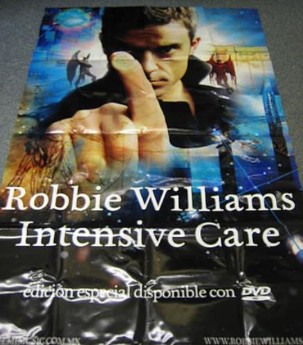 Robbie Williams Intensive Care display Mexican RWIDIIN344484