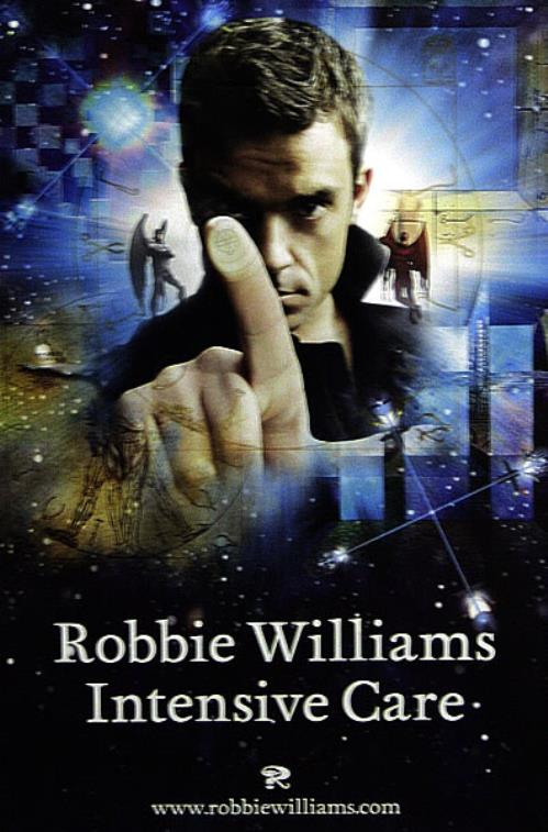 Robbie Williams Intensive Care poster UK RWIPOIN344660
