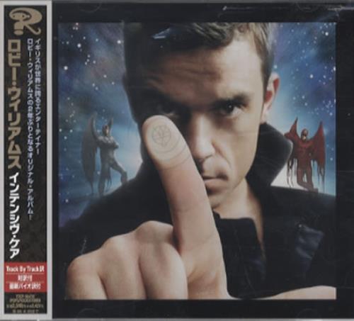 Robbie Williams Intensive Care CD album (CDLP) Japanese RWICDIN346892