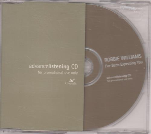 Robbie Williams I've Been Expecting You CD album (CDLP) UK RWICDIV130409