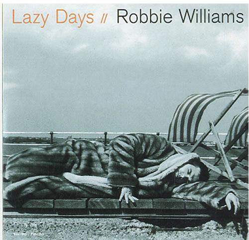 """Robbie Williams Lazy Days CD single (CD5 / 5"""") Dutch RWIC5LA174605"""