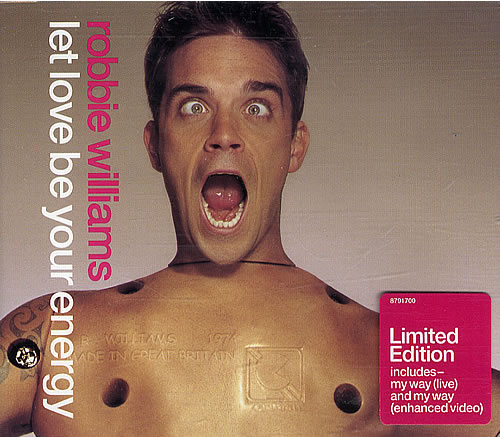 Robbie Williams Let Love Be Your Energy 2 CD Set 2-CD single set (Double CD single) UK RWI2SLE454393