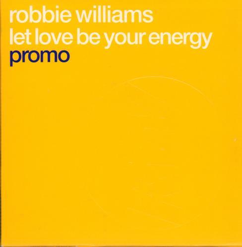 "Robbie Williams Let Love Be Your Energy CD single (CD5 / 5"") UK RWIC5LE179726"