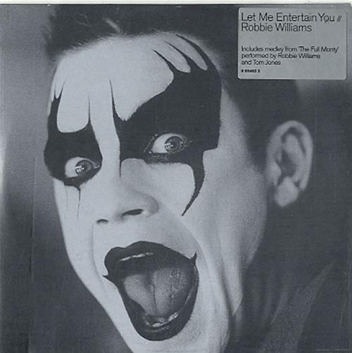 "Robbie Williams Let Me Entertain You CD single (CD5 / 5"") Dutch RWIC5LE626366"