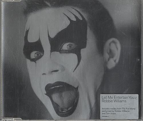 "Robbie Williams Let Me Entertain You CD single (CD5 / 5"") Dutch RWIC5LE626396"