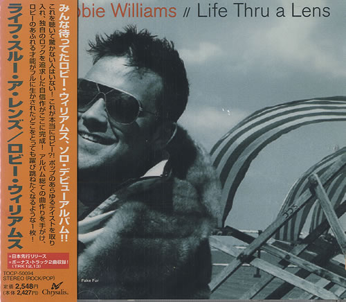 Robbie Williams Life Thru A Lens CD album (CDLP) Japanese RWICDLI239386