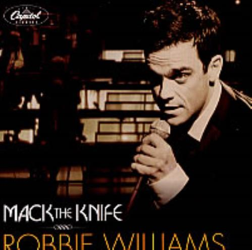 "Robbie Williams Mack The Knife CD single (CD5 / 5"") Mexican RWIC5MA217433"