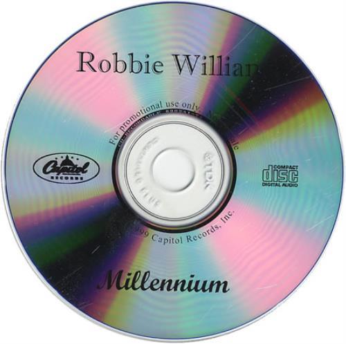 Robbie Williams Millenium CD-R acetate US RWICRMI136699