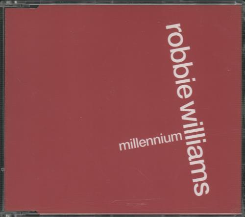 "Robbie Williams Millennium CD single (CD5 / 5"") UK RWIC5MI118509"