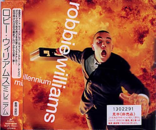 "Robbie Williams Millennium CD single (CD5 / 5"") Japanese RWIC5MI127893"